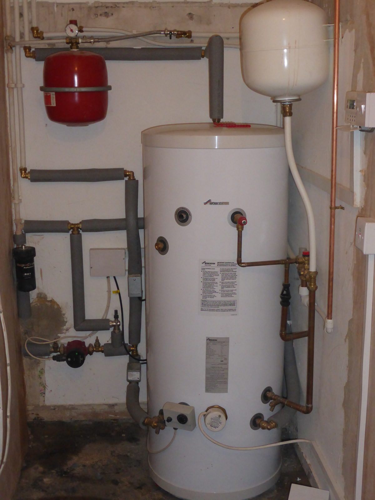 ERS - Unvented Hot Water Storage Systems - Bridgend College