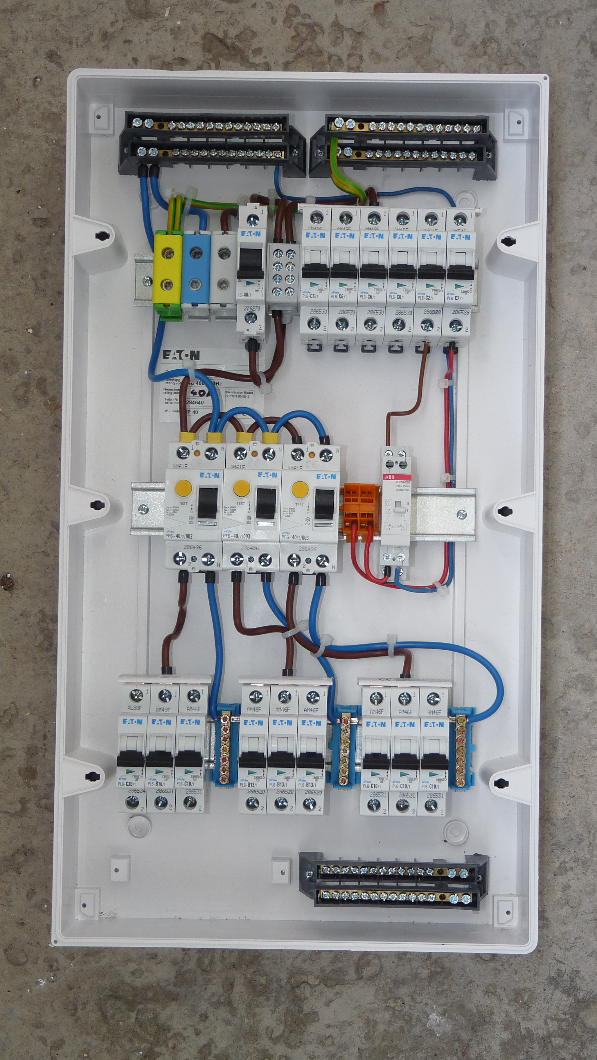 House Fuse Box Completed Wiring Diagrams Diagram Lights Home Tube Database Library Water Pump Simple