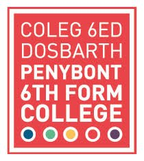 Logo for Penybont Sixth Form College