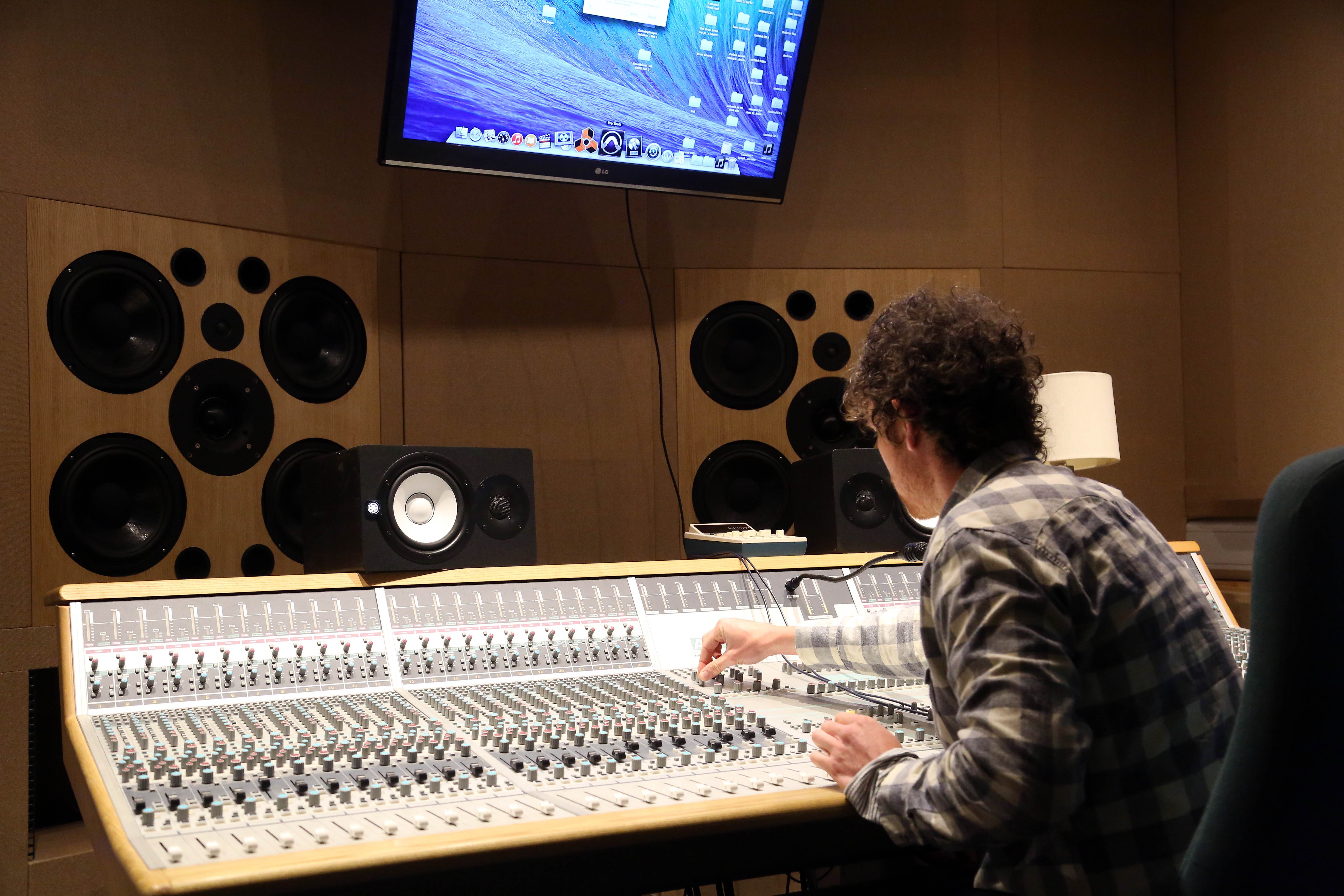 Sound recording studio at Queens Road Campus