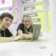 Students in our careers hub