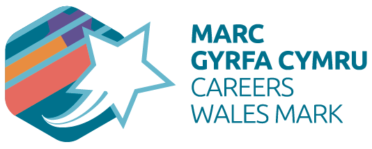 Logo for Careers Wales quality mark
