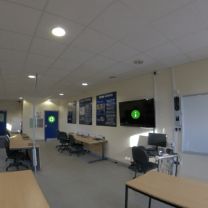 Sports classroom at our Pencoed Campus