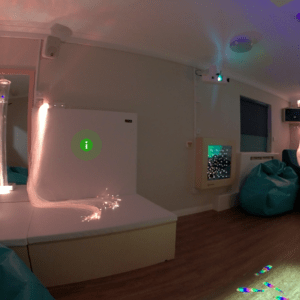 Our sensory room within Weston House