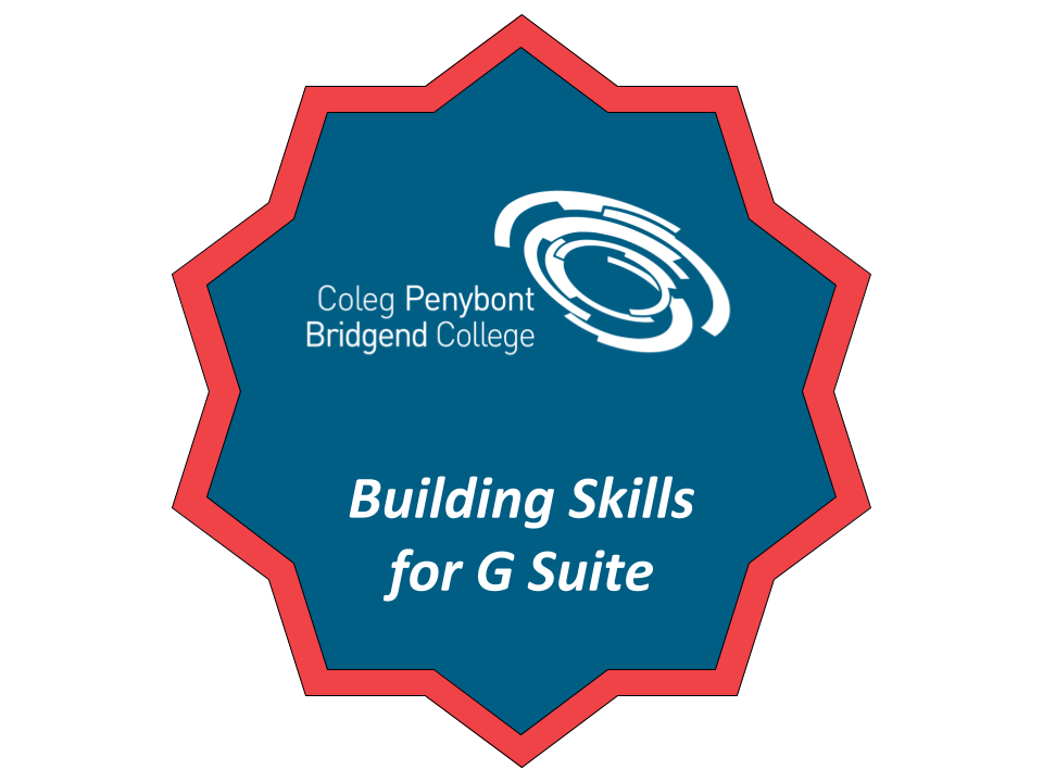 Building skills for G Suite